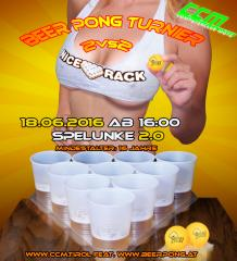 3.CcM BEER PONG Turnier 2016